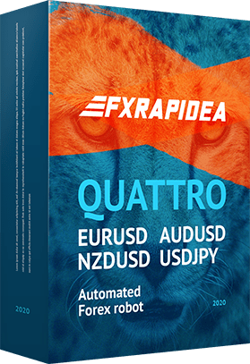FXRapidEA QUATTRO is stable and reliable Expert Advisor for Metatrader 4
